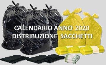 Calendario Raccolta Differenziata Sanremo.Calendario 2019 Distribuzione Sacchi Raccolta Differenziata